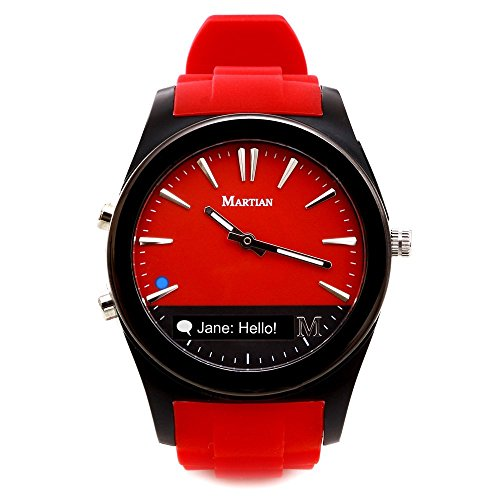 【送料無料】【Martian Watches Notifier Smartwatch スマートウォッチアクティビティトラッカー活動量計 [並行輸入品]】
