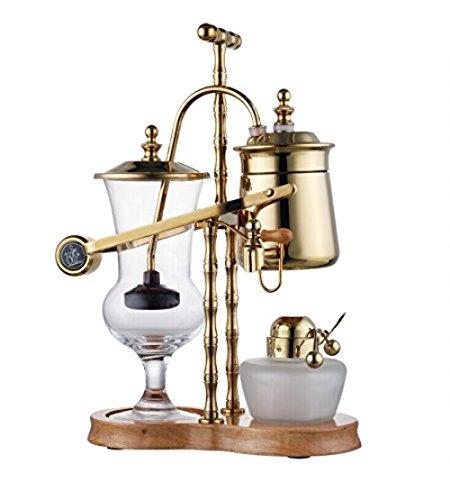 【送料無料】【帝国 二代目ベルギーコーヒーメーカー(ゴールド)】 b00ltncs84