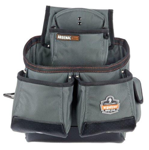 【送料無料】【アーゴダイン ツールベルト(腰袋) 16ポケットツールバッグ グレー ワンサイズ 5522】 b000kwbc1e