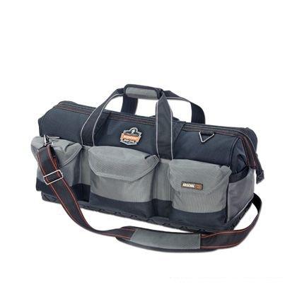 【送料無料】【アーゴダイン 工具用カバン(鞄) 広口 28ポケット グレー (5808)】 b001aygf72