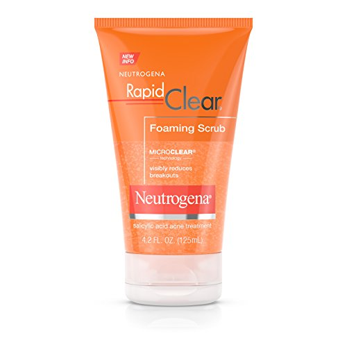 【送料無料】【Neutrogena Rapid Clear Foaming Scrub 124 ml (並行輸入品)】 b003ycf4xo