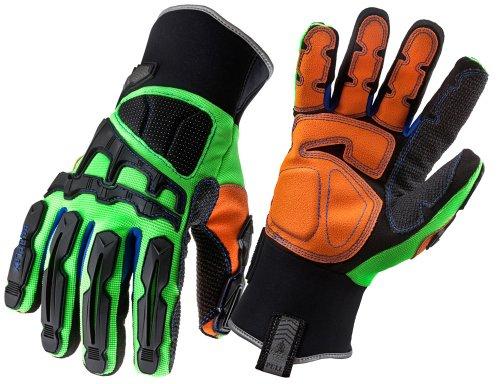 【送料無料】【アーゴダイン 作業用手袋 高保護性 グリーン Lサイズ (925F(X)WP L)】 b003wt1pza