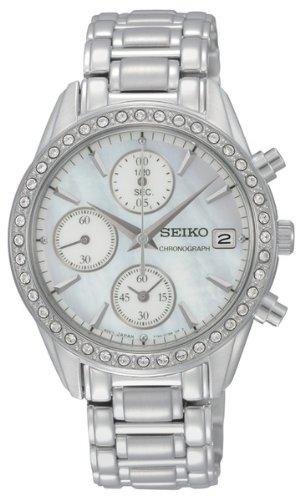 【送料無料】【[セイコー]Seiko 腕時計 Stainless Steel Analog with Mother-Of-Pearl Dial Watch SNDY21 レディース [逆輸入]】 b0081z8vdo