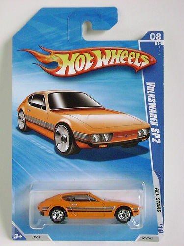 【送料無料】【Hot Wheels 2010 All Stars Volkswagen SP2 Orange #126/240】 b00bcnn4mu