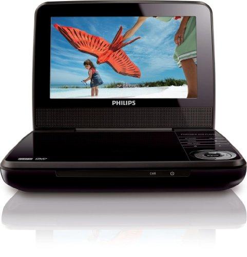【送料無料】【Philips フィリップス PET741 mdf-ver 多地域対応 リージョンフリー リージョン0~8 (PALとNTSC 自動対応) 超軽量 0.7kg ウルトラコンパクト 7インチ ポータブルDVDプレーヤー 世 界 共 通 プ レ ミ ア ム 海 外 仕 様】 b00cajogmw