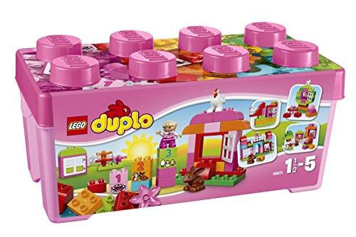 【送料無料】【レゴ (LEGO) デュプロ ピンクのコンテナデラックス 10571】 b00f3b2txc