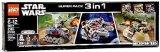 【送料無料】【LEGO Star Wars Super Pack 3 in 1 66514 レゴ スターウォーズ 3点セット 海外直送品】
