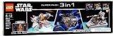 【送料無料】【Star Wars Lego Super Pack 3 in 1 Microfighters 66515】