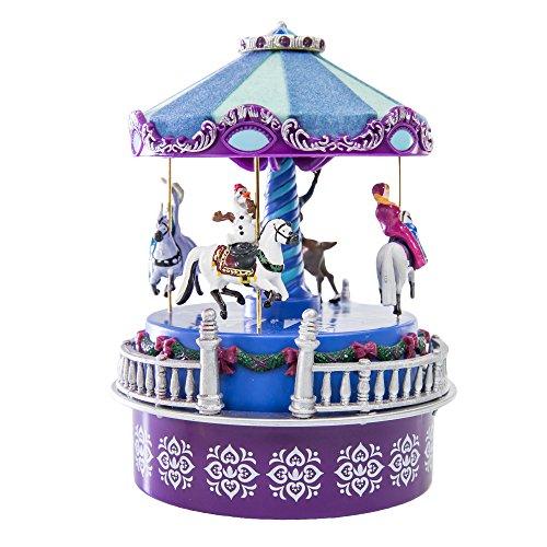 【送料無料】【Disney Frozen ミスタークリスマスカルーセルミュージカルオルゴールレット・イット・ゴー 並行輸入品】 b00p1os1k6