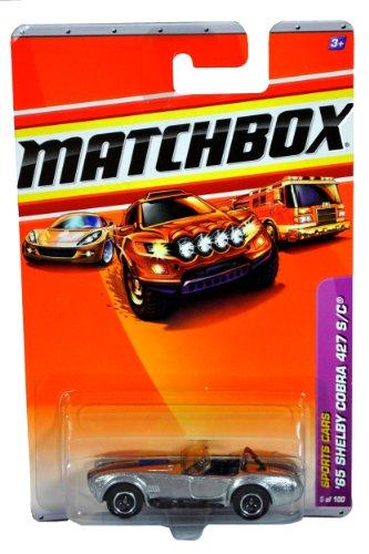 ☆春の特別企画☆エントリーで当店全品ポイント5倍!【送料無料】【Mattel Year 2009 Matchbox MBX Sports Cars Series 1:64 Scale Die Cast Car #5 - Silver Color Roadster Coupe '65 SHELBY COBRA 427 S/C by Mattel [並行輸入品]】 b00tt7xo0i