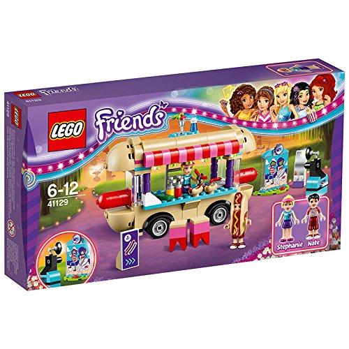 【送料無料】【レゴ (LEGO) フレンズ 遊園地 ホットドッグカー 41129】 b01ac19qni