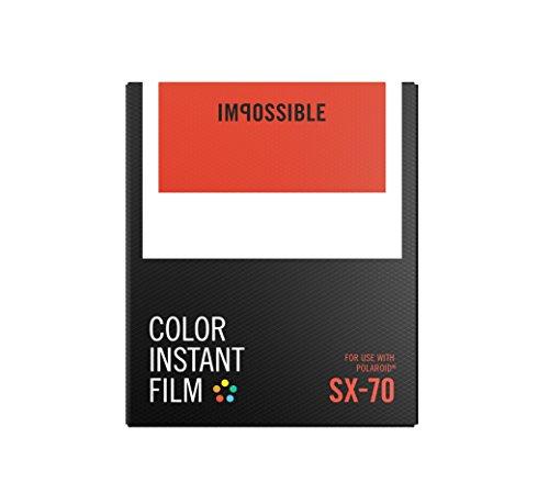 【送料無料】【IMPOSSIBLE ポラロイド用インスタントフィルム COLOR INSTANT FILM for SX-70】 b01f6q9i5k