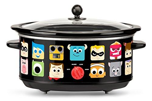 ☆春の特別企画☆エントリーで当店全品ポイント5倍!【送料無料】【Disney Pixar Oval Slow Cooker 7 quart Black by Disney】 b01b591z8k