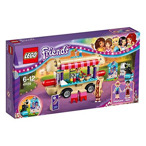 【送料無料】【LEGO 41129 Friends Amusement Park Hot Dog Van Construction Set】 b01i80sl6s
