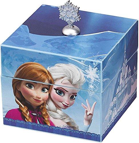 【Disney Frozen Music Box Plays Let It Go With Elsa Pendant Necklace ディズニー アナと雪の女王 オルゴール Mr. Christmas社【並行輸入】】 b00p4ax710