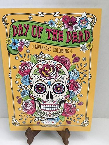 【Day of the Dead Advanced Coloring Book For Adults】 b06xcvpy4v