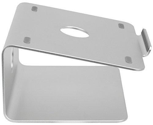 【Vivoアルミ冷却回転プラットフォームポータブルユニバーサルデスクトップ角度付きスタンドfor MacBook、Chromebook、PC Laptop   Fits 11 to 17 ( stand-v000 K )】 b01nceing6