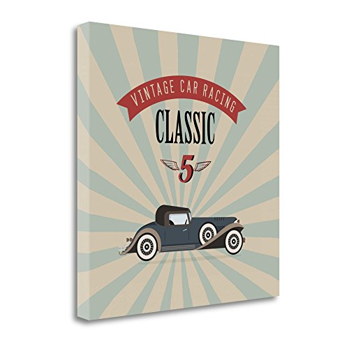 【Tangletown Fineアートicg725d-2121 C Vintage Racing 4 by GraphINC Studio壁アート】 b01n2y0ucn
