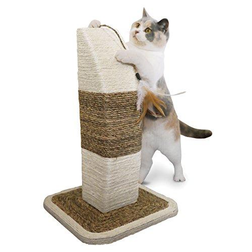 【Rimini Natural Cat Scratching Post by Rosewood Pet】 b0069s0k8e