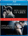 【Fifty Shades: 2-Movie Collection - Unrated Edition (Blu-ray + DVD + Digital HD)...