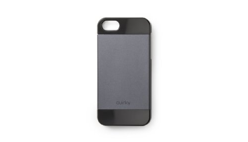 【Quirky PLUM1-BK01 Luminum Case for iPhone 5 - Retail Packaging - Black by Quirky】 b00aw17az0