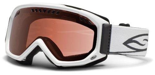【Smith Scope Snow Goggles - White Frame/RC36 Rose Copper Lens. Medium】 b008gdlfwu