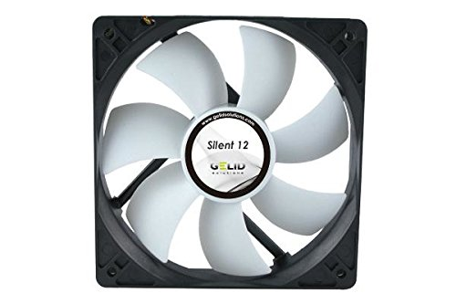 【GELID Solutions Low Noise fan-1000 RPM 20.2 dBA ( 120x120x25mm )】 n b001k6xywy