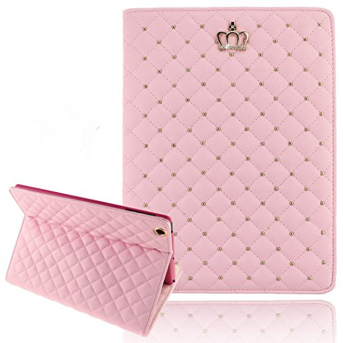 【Umiko ( TM ) Luxury Glitter Bling SparkleレザーケースカバースタンドケースカバーのiPad 2 3 4 & iPad Mini iPad Air 2 ピンク】 b00w6ymiik