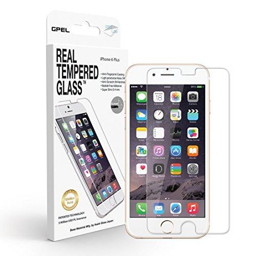 ☆春の特別企画☆エントリーで当店全品ポイント5倍!【iPhone 6 / 6s Plus 5.5in Screen Protector GPEL Real Tempered Glass [HD CLEAR] 100% SATISFACTION GUARANTEE by Gpel】 b00xo0twp2