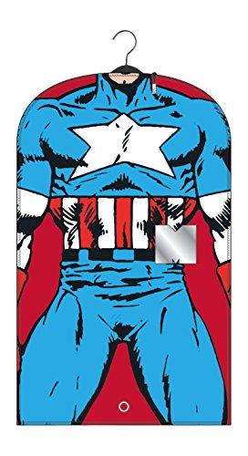☆春の特別企画☆エントリーで当店全品ポイント5倍!【BB Designs Marvel Captain America Suit Bag】 51tB90Eoa7L b015svjod4