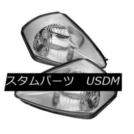 ヘッドライト Mitsubishi 00-05 Eclipse Chrome Housing Replacement Headlights GTS GS GT Spyder 三菱00-05 Eclipse Chromeハウジング交換ヘッドライトGTS GS GT Spyder