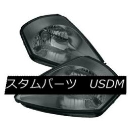 ヘッドライト Mitsubishi 00-05 Eclipse Somke Lens Replacement Headlights GTS GS GT Spyder 三菱00-05 Eclipse Somkeレンズ交換ヘッドライトGTS GS GT Spyder