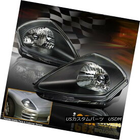 ヘッドライト NEW For 2000-2005 Mitsubishi Eclipse GS GTS RS Spyder Headlights Black Headlamp NEW for 2000-2005 Mitsubishi Eclipse GS GTS RSスパイダーヘッドライトブラックヘッドランプ