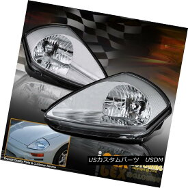 ヘッドライト NEW For 2000-2005 Mitsubishi Eclipse Spyder GS GTS GT RS Headlights Headlamps NEW for 2000-2005三菱EclipseスパイダーGS GTS GT RSヘッドライトヘッドランプ