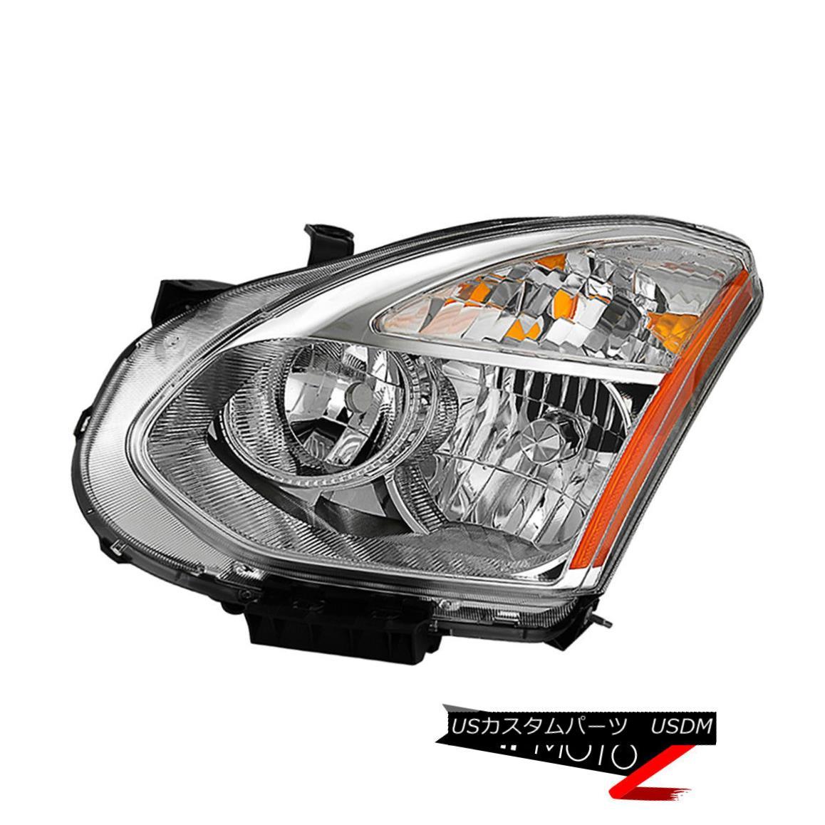 """ヘッドライト Driver Side """"Factory Style"""" Headlamp Replacement For HID 2008-2013 Nissan Rogue HID 2008-2013日産自動車のドライバーサイドファクトリースタイルヘッドランプ交換"""