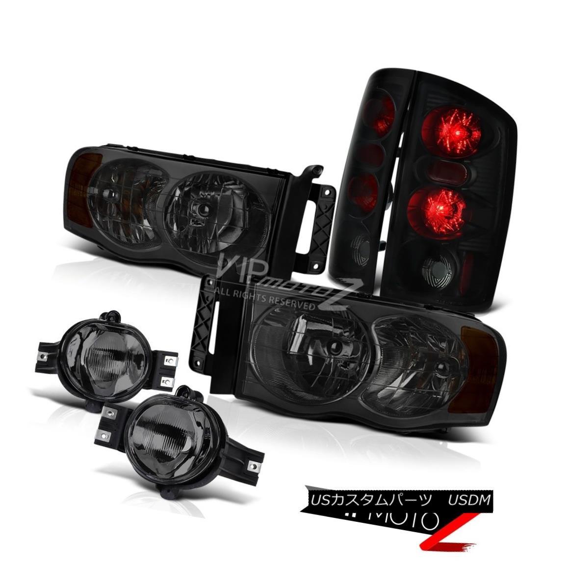 ヘッドライト {Beast Mode} Full Smoked Projector Headlights+LED Taillights+Factory Look Fog {ビーストモード}完全なスモークプロジェクターヘッドライト+ LEDのターンライト+ファー tory Look Fog