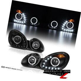 ヘッドライト [BUILT-IN LED DRL] 1998-2005 Lexus GS300 GS400 Aristo JDM Black Headlights Lamps [BUILT-IN LED DRL] 1998-2005レクサスGS300 GS400アリストJDMブラックヘッドライトランプ