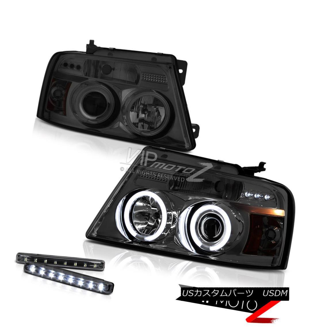 ヘッドライト >>LED LIGHT BAR KIT<< 04-08 Ford F150 Lariat/FX4 CCFL Halo Projector Headlight >< LEDライトバーキット< 04-08 Ford F150 Lariat / FX4 CCFL Haloプロジェクターヘッドライト