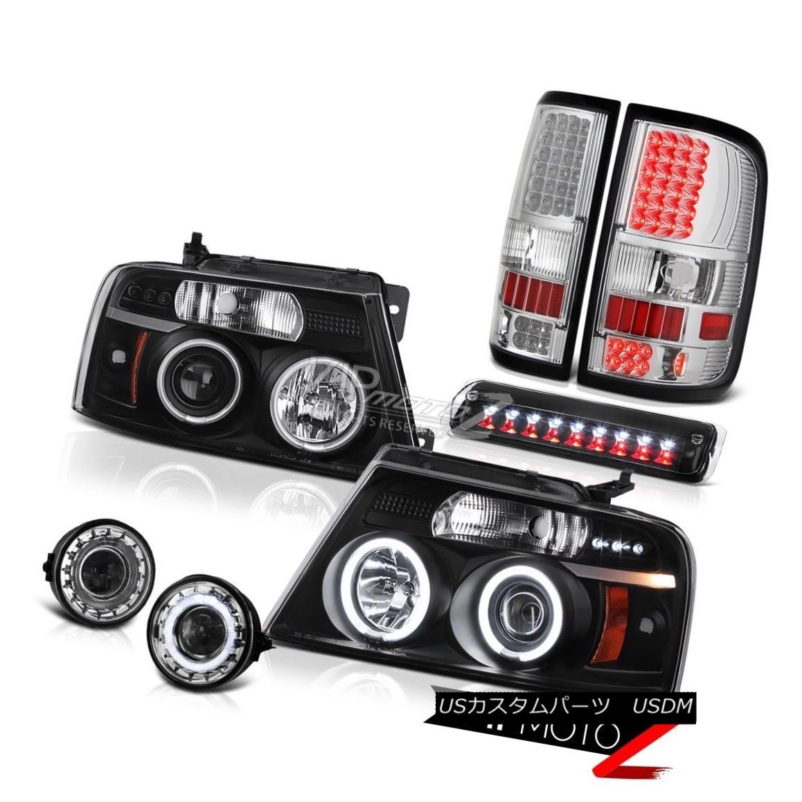 ヘッドライト 06 07 08 Ford F150 FX4 Foglamps Roof Brake Lamp Taillights Headlights LED Cool 06 07 08フォードF150 FX4フォグランプルーフブレーキランプテールライトヘッドライトLEDクール