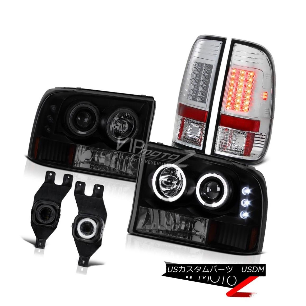 ヘッドライト CCFL Tech. Headlight Taillights Projector Foglamp Ford F250 F350 F450 Diesel 4X4 CCFL Tech。 ヘッドライトテールライトプロジェクターFoglamp Ford F250 F350 F450ディーゼル4X4