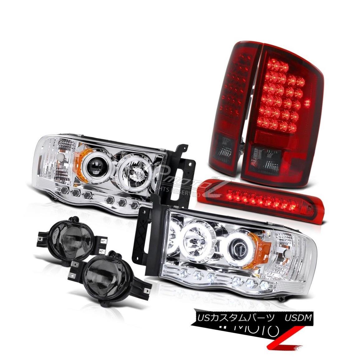 """ヘッドライト """"BEAST MODE""""CCFL Projector Head Lamp+LED Taillight+Fog+Third Brake Lamps 02-05 """"BEAST MODE"""" CCFLプロジェクターヘッドランプ+ LED懐中時計+フォグ+ 第3ブレーキランプ02-05"""