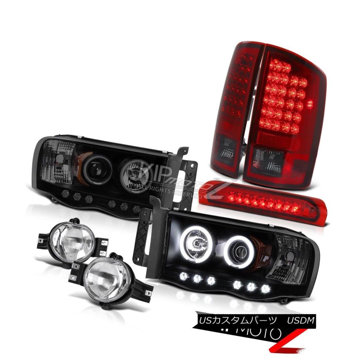 ヘッドライト 02-05 Ram 3500 CCFL Headamp Brightest LED Tail Lamp Bumper Fog High Brake Cargo 02-05 Ram 3500 CCFLヘッドランプ最も明るいLEDテールランプバンパーフォグハイブレーキ貨物