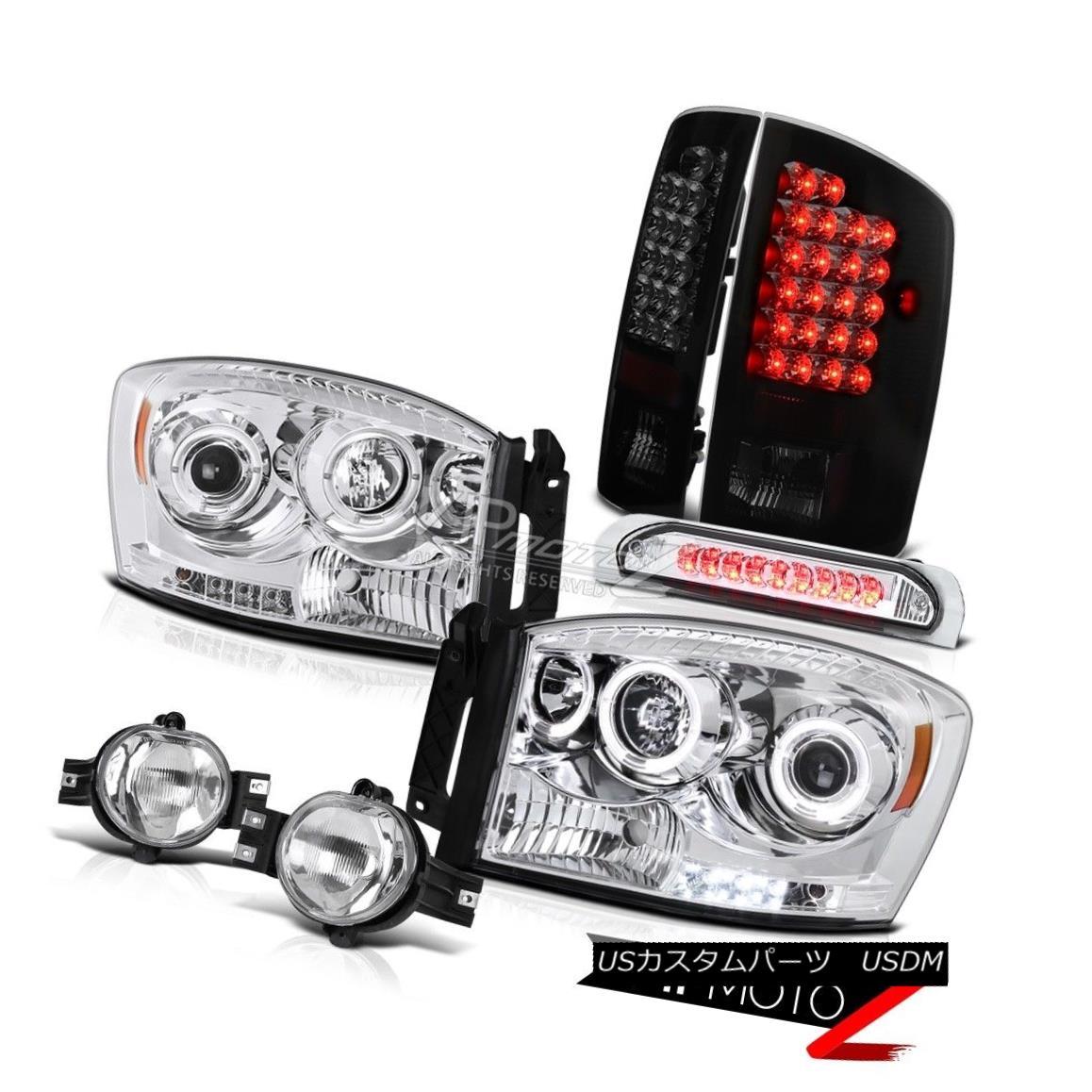"""ヘッドライト """"Beast Mode"""" Dodge Ram <BRIGHTEST> LED Tail Light+Headlight+Fog+3rd Brake Lamps 「ビーストモード」ドッジラム< BRIGHTEST> LEDテールライト+ヘッドライト t +フォグ+第3ブレーキランプ"""
