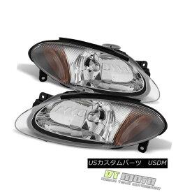 ヘッドライト 1998-2003 Ford Escort Zx2 Coupe Headlights Headlamps Replacement Pair Left+Right 1998-2003フォードエスコートZx2クーペヘッドライトヘッドライト交換ペア左右+右