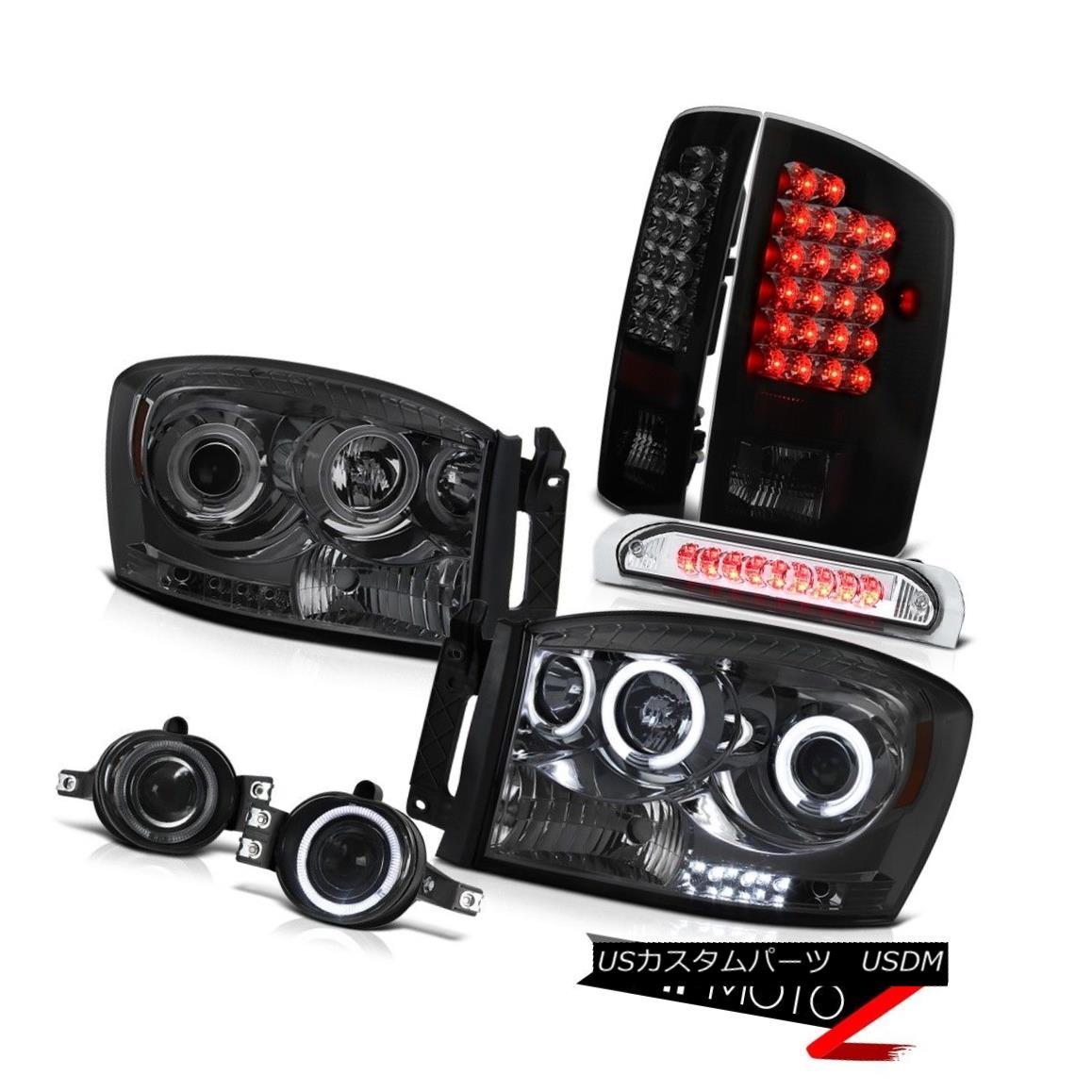 ヘッドライト [Beast Mode] 06 Ram Tinted CCFL Halo Headlight+LED Tail+3rd Brake+Fog Lamps L+R [ビーストモード] 06 Ram Tinted CCFL Haloヘッドライト+ LEDテール+第3ブレーキ+フォグランプL + R