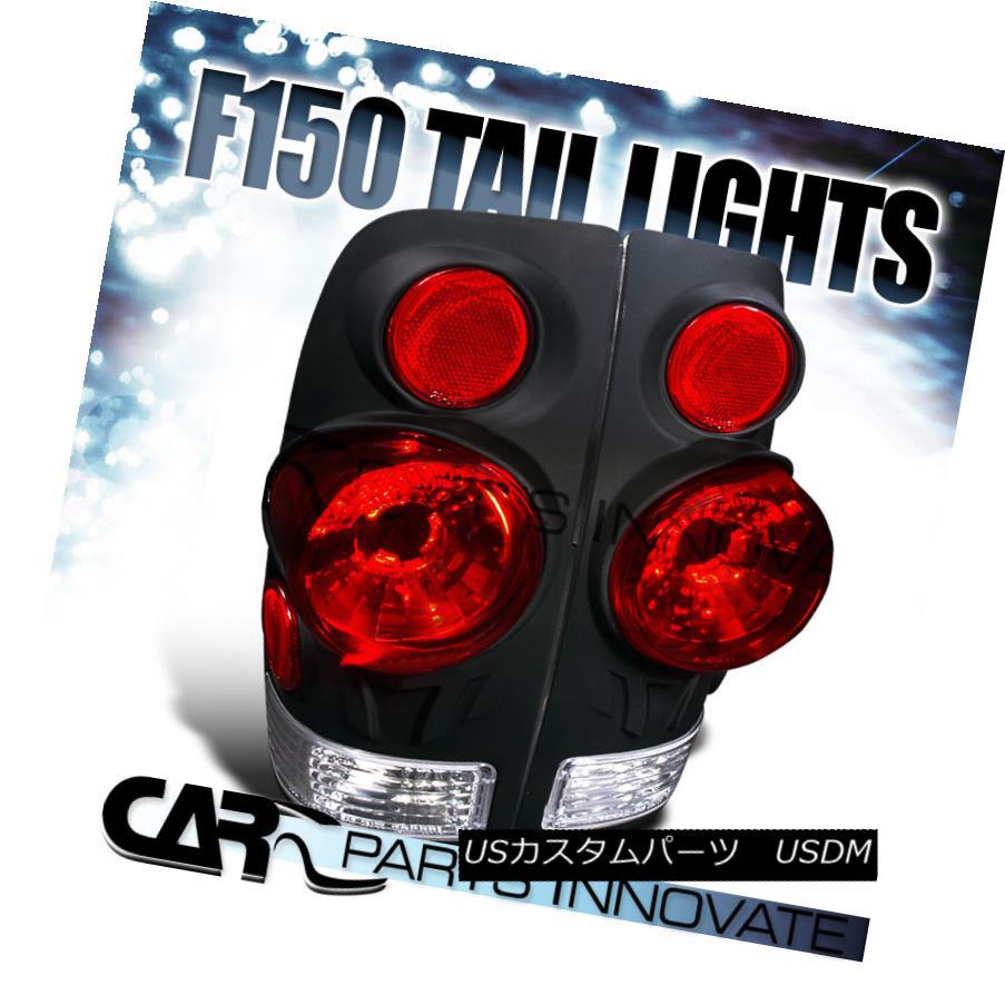 テールライト 1997-2003 Ford F150 Styleside Tail Lights Rear Brake Lamp 3D Altezza Black 1997-2003 Ford F150 Stylesideテールライトリアブレーキランプ3D Altezza Black