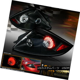 テールライト BRIGHTEST Pair 2006-2011 Mitsubishi Eclipse GS/GT/SPYDER LED Tail Light Black 最も明るいペア2006-2011三菱Eclipse GS / GT / SPYDER LEDテールライトブラック