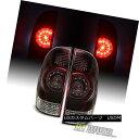 テールライト Red Smoked 2005-2015 Toyota Tacoma TRD Tail Lights Brake Lamps 05-15 Left+Right レッドスモーク200…