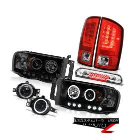 テールライト 02-05 Ram 1500 2500 3500 WS Tail Lamps Headlights Fog Roof Cargo Lamp Dual Halo 02-05 Ram 1500 2500 3500 WSテールランプヘッドライトフォグ屋根カーゴランプデュアルヘイロー