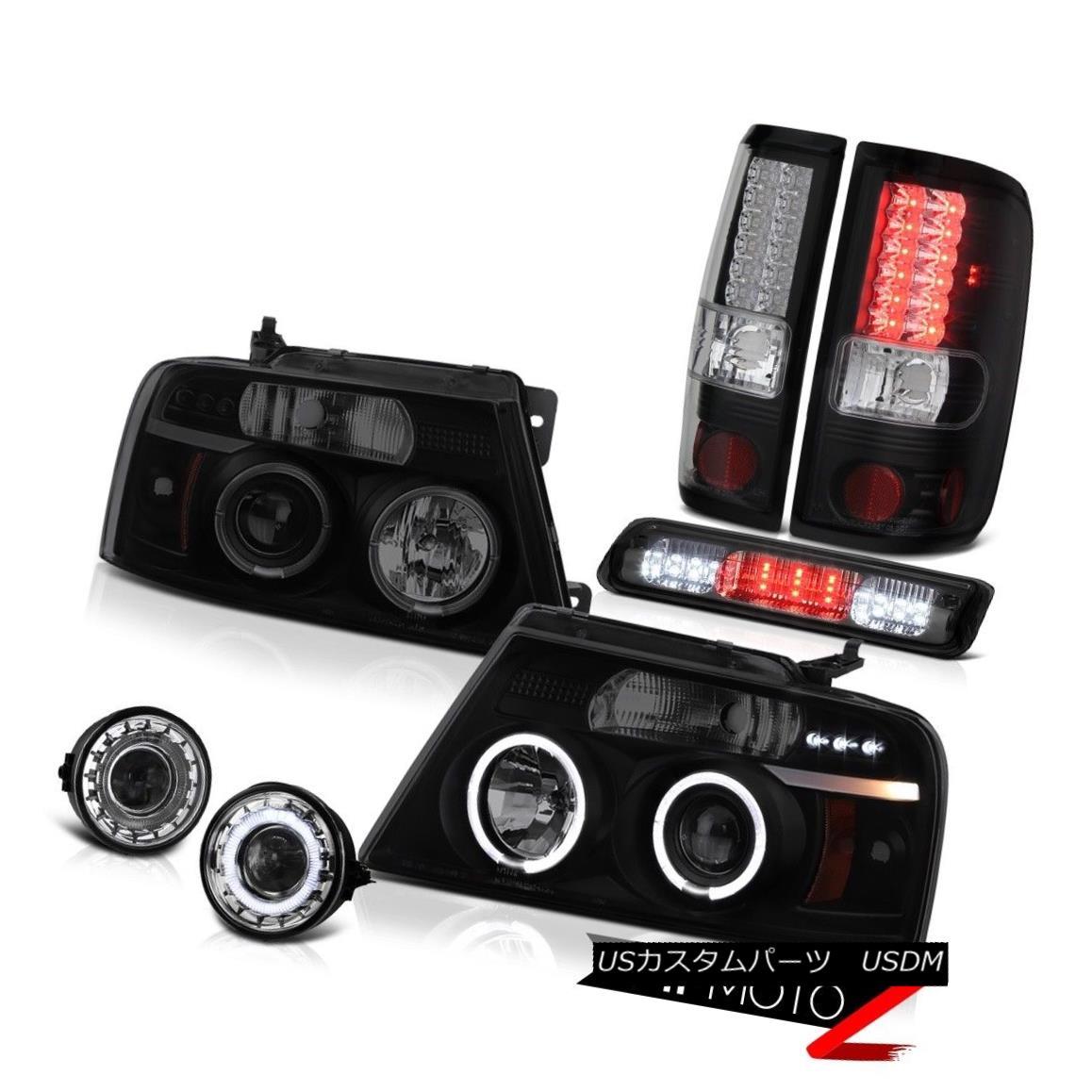 """テールライト 06 07 08 Ford F150 FX4 Foglights 3rd Brake Lamp Headlamps Taillights """"Brightest"""" 06 07 08フォードF150 FX4フォグライト第3ブレーキランプヘッドライト晴れ """"明るい"""""""